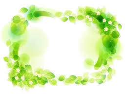 Green Floral Frame Vector Illustration Free Vector Graphics All