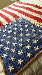 American Flag Crochet Pattern Delectable Wavy American Flag Free Crochet Blanket Pattern By Tracy Johnson