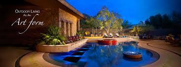 Pool Landscape Design Phoenix Swimming Pool Builder Landscape Design Bianchi Design
