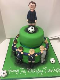 Football Team Birthday Cake M Rays Bakery
