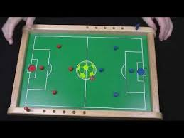 Homemade Wooden Games Penny Soccer wooden board game flick penny to score YouTube 49