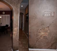 painting plaster walls31 best media wall images on Pinterest  Home Faux painting and