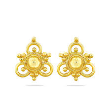 How To Design Earrings Jewellery Buy Gold Mangalsutras Online Gold Wedding Chains Kalyan