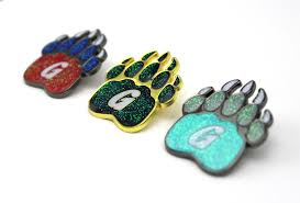 Bear Claw Lights The Griz Glitterbomb Bear Claw Hat Pin Products Hat