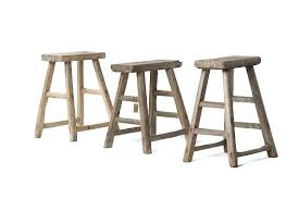Rustic Wood Primitives Vintage Wooden Bench Antique With Storage And Benches  Stools30
