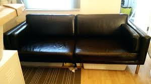 interesting ikea leather sofa leather sofa throughout co plans 3 ikea rp leather sofa reviews