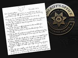 you make a difference reads thank you letter to jefferson county sheriff s office denver7 thedenverchannel