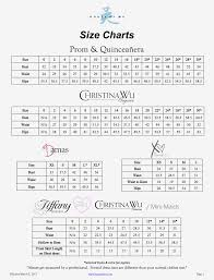 Alfred Angelo Bridesmaid Dresses Size Chart