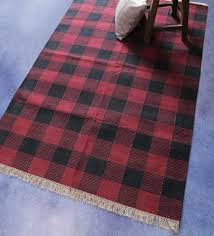geometric pattern cotton 6 x 4 feet hand crafted dhurrie by carpet overseas