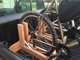 Need ideas about homemade pickup bed bike racks- Mtbr.com