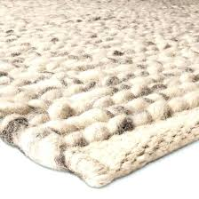 cable knit rug cable knit rug complete your room with a chunky knit braided wool rug
