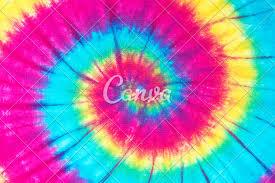 Tie Dye Swirl Design Spiral Tie Dye Pattern Photos By Canva