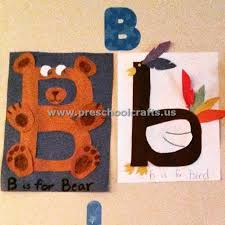 letter b crafts for kindergarten