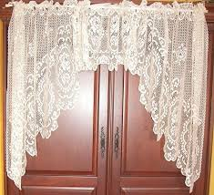 vintage lace curtain panels startling latest cottage curtains decor with antique home interior 16