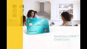 Maybe you would like to learn more about one of these? The Synchrony Home Credit Card Program Youtube