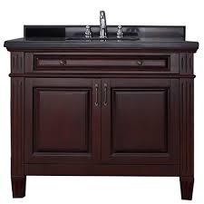 bathroom vanity black. Vanity In Chocolate With Granite Top Black Bathroom