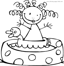 Small Picture Summer color page Coloring pages for kids Holiday Seasonal