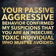 Image result for passive aggressive