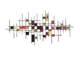 metal wall art large underground abstract