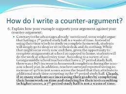 argument essay counter argument example persuasive essay formats counter argument what s that again ppt video online
