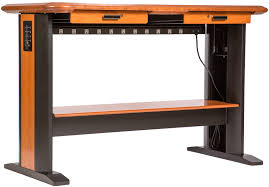 standing computer desk full caretta workspace pertaining to cable management ideas 3