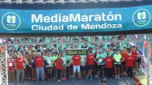 Resultado de imagen para media maraton ciudad de mendoza