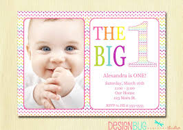 free printable 1st birthday invitation template first with baby birthday invitations