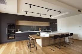 Cuisine Gris Et Bois Design De Maison