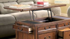 Woodboro Lift Top Coffee Table Woodboro Occasional Table Collection From Signature Design By