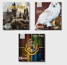 Socken Women's Harry Potter OWL 15 Days of Socks Advent Calendar Christmas  Gift Kleidung & Accessoires bailek.com