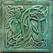 Decorative Relief Tiles Decorative handmade ceramic tile Handmade relief carved ceramic 66