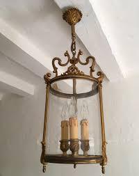 antique french gilt bronze hall porch lantern c 1910 la85314 loveantiques com