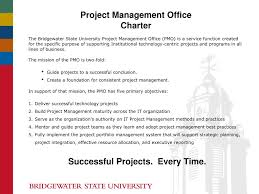 Ppt Project Management Office Charter Powerpoint Presentation Id