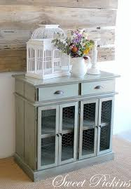 Can't wait to incorporate chicken wire into cupboard & cabinet projects <3  | nifty DIY | Pinterest | Chicken wire, Cupboard and Paint furniture