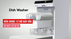 Thật không thể tin máy rửa chén Malloca thiết kế siêu đẹp thế - YouTube