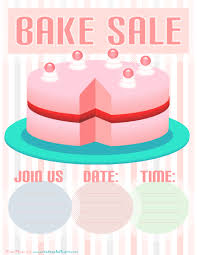 Bake Sale Flyer Templates Free 035 Template Ideas Bake Sale Flyer Cake Fundraiser Templates