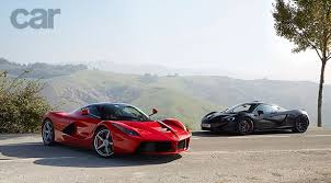 mclaren p1 vs laferrari. two supercar legends one twin test mclaren p1 vs laferrari