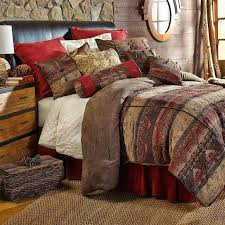 stag rustic bedding set southwest bedding collection bedding sets queen