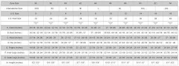 Alessi Motorcycles Alpinestars Size Chart