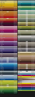 Montana Color Chart Black Line In 2019 Black Spray Paint