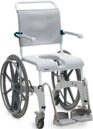 aquatec ocean self propelled shower commode chair