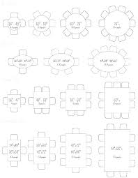 Round Table Seating Chart Round Table Sizes Onionpy Co