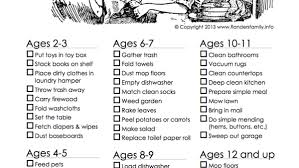 Age Appropriate Chores For Children And Why Theyre Not