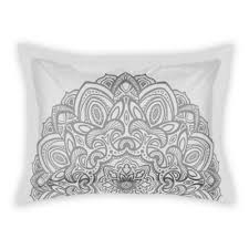 gray pillow shams. Brilliant Pillow Designs Direct Medallion King Pillow Sham In Grey To Gray Shams E