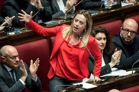 Giorgia Meloni apprezza il discorso di Mattarella: