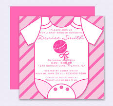 Onesie Baby Shower Invitations Pink Onesie Baby Shower Invitation Editable Template Free Baby