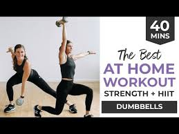 best strength hiit home workout for