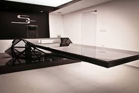 floating office desk. interior excellent black modern floating office desk design ideas for minimalist white decoration d