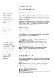 Psych Nurse Resume Cool Mental Health Nurse Job Application Example Brave48