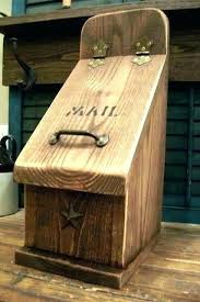 Image Letter Wood Pinterest Wood Mailbox Custom Mailboxes By Using Exotic Wood Built To Your